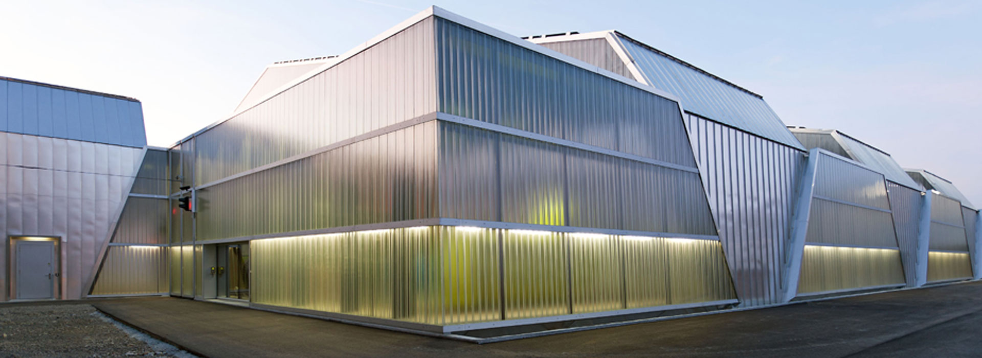 Architectural Glass Metal Facades Polycarbonate System